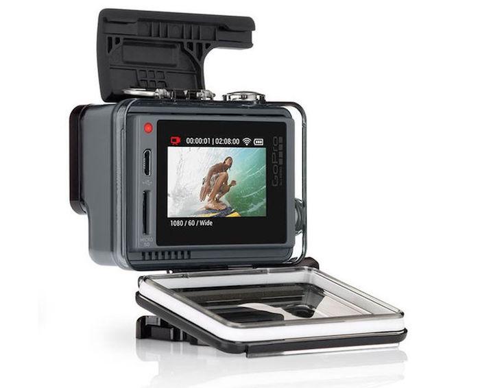 GoPro HERO+ LCD : vue de dos