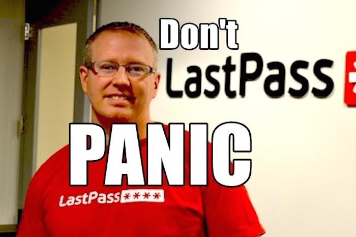LastPass : il est nécessaire de changer votre mot de passe maître