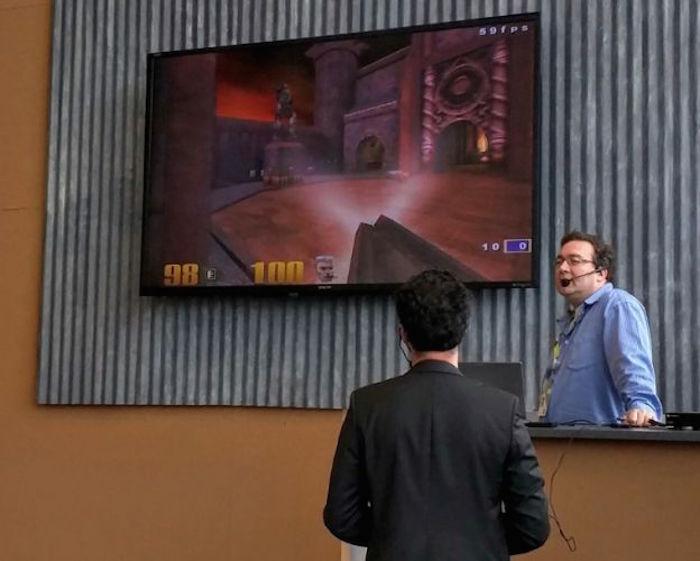 Vous pouvez lancer Quake III sur un Chromecast