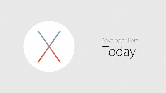 OS X El Capitan : la bêta disponible aujourd'hui