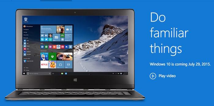 Microsoft présente 10 raisons de passer à Windows 10