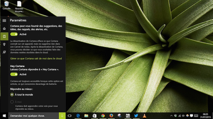 Windows 10 : Carnet de notes