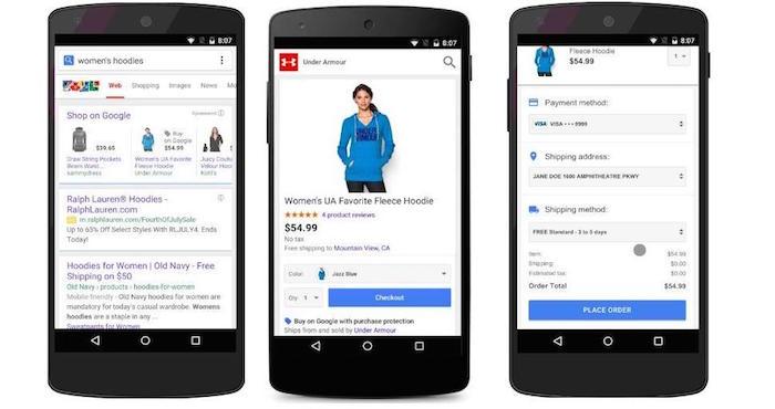 Google vous permettra d'acheter des trucs plus rapidement sur sa page de recherche