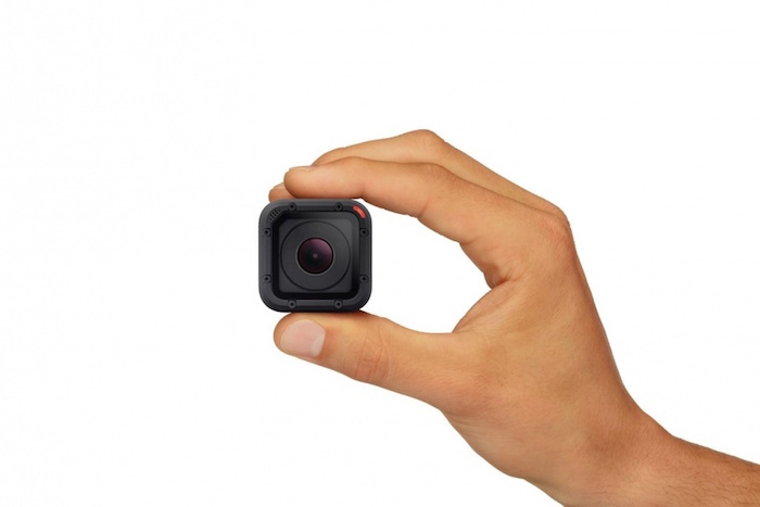 GoPro Hero4 Session : vue de face
