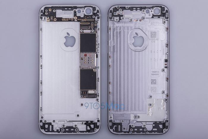 iPhone 6S : vue de l'intérieur