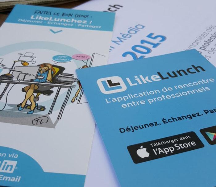 LikeLunch, l'application idéale pour vos rencontres professionnelles