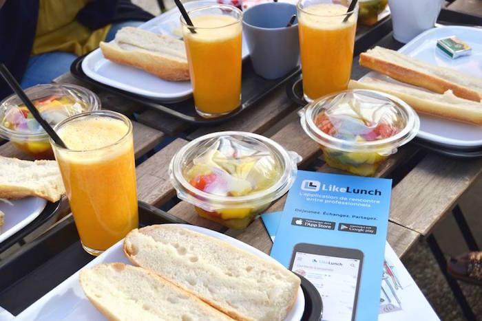 Déjeuner à La Rochelle avec l'équipe de LikeLunch
