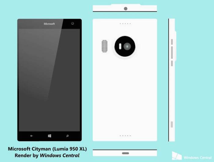 Lumia 950 XL (Cityman)