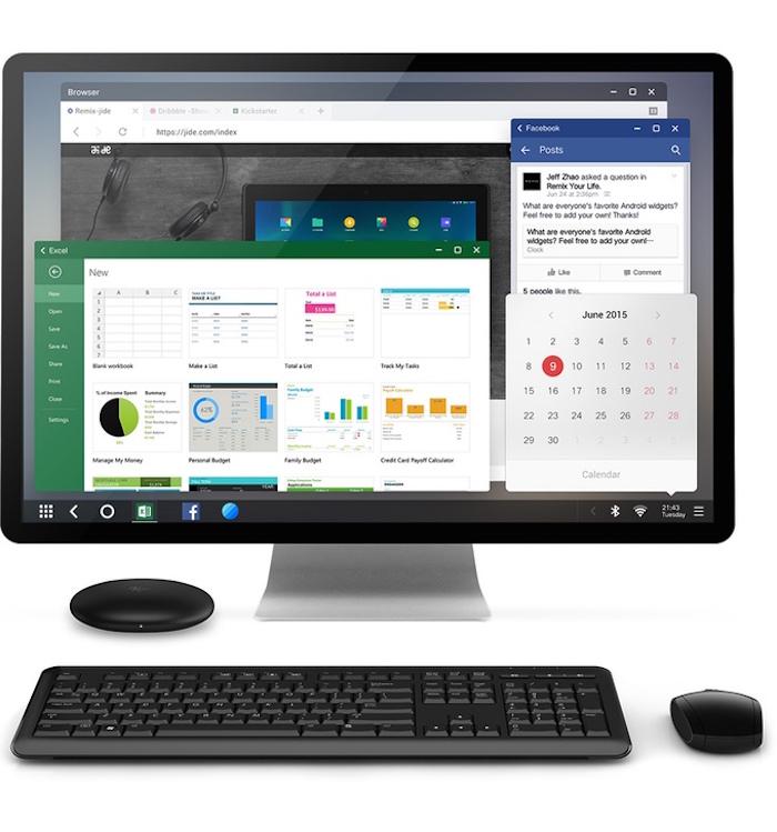 Remix Mini : un PC Android à prix mini arrive sur Kickstarter