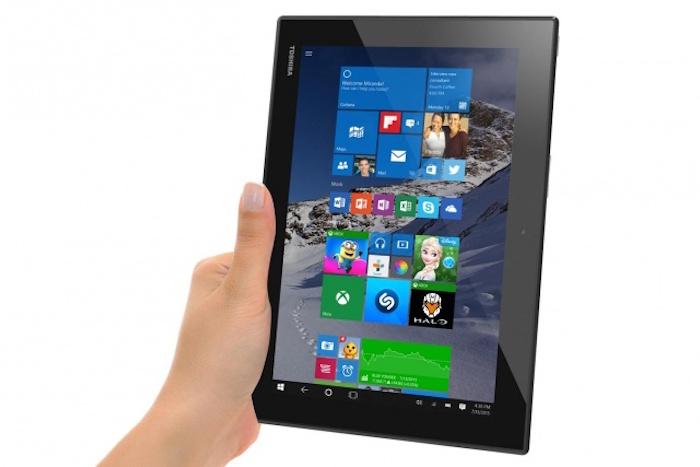 Toshiba Encore 10 sous Windows 10