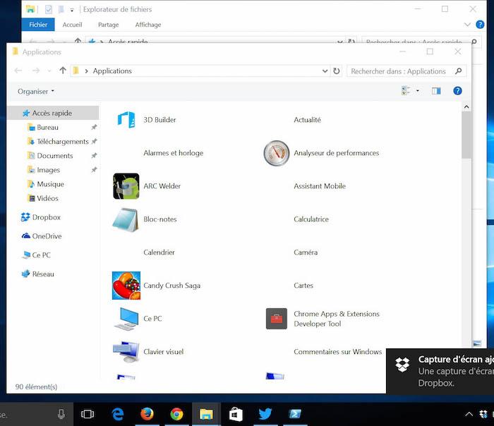 Comment cr er un raccourci d 39 une modern app sous windows 10 - Comment installer adwcleaner sur le bureau ...