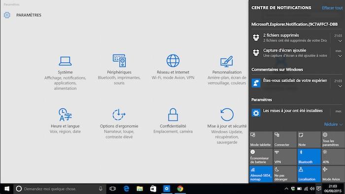 Comment Peaufiner Le Centre De Notifications Dans Windows 10