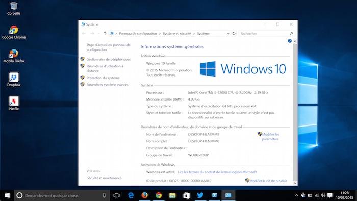 comment voir si windows 7 et activer