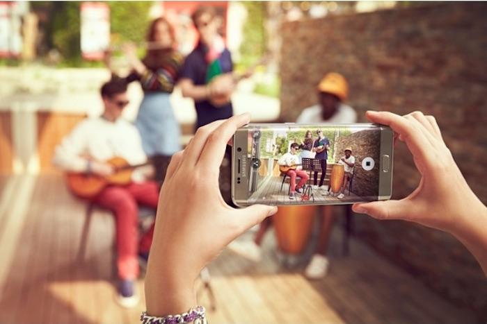 Galaxy S6 Edge+ : caméra