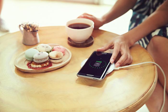 Galaxy S6 Edge+ : recharge sans fil