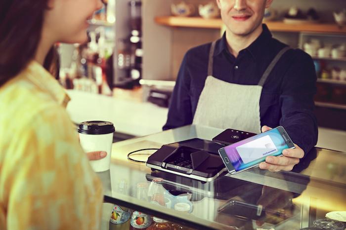 Galaxy S6 Edge+ : Samsung Pay