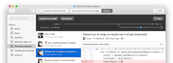 GitHub Desktop pour Mac