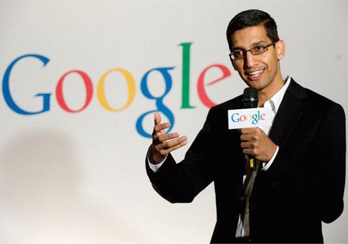 Sundar Pichai commence son règne en tant que PDG de Google