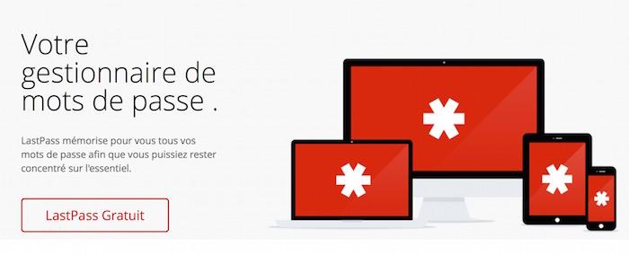 LastPass est maintenant gratuit sur mobile et PC