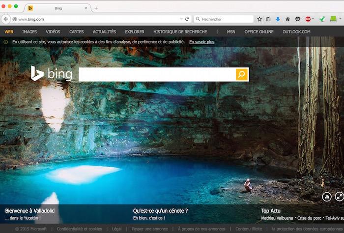 W est pour WTF : Bing troll Alphabet de Google