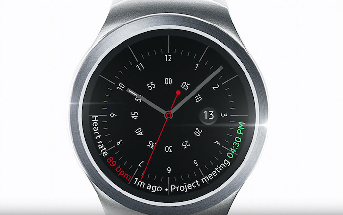 Gear S2 : watchface