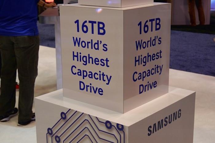 Samsung dévoile un disque SSD de 16 To