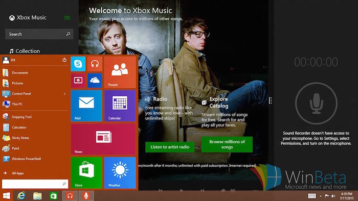 Windows 8.1 RT va finalement disposer du menu Démarrer de Windows 10