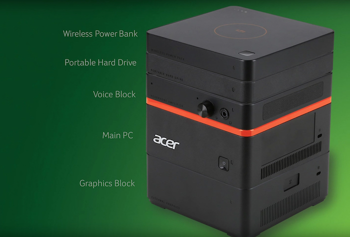 Acer Revo Build : vue globale