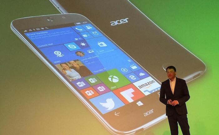 Acer Jade Primo : un smartphone devient un PC avec Windows 10 Continuum