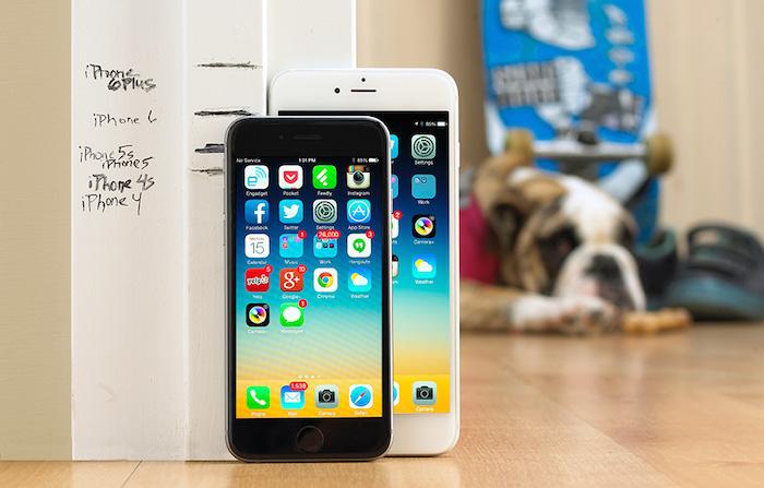 iPhone 6S : une assez grosse mise à jour pour la résolution de l'écran ?