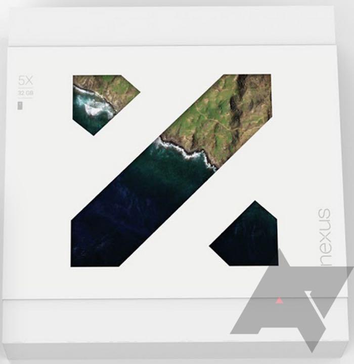 Nexus 5X : photo emballage