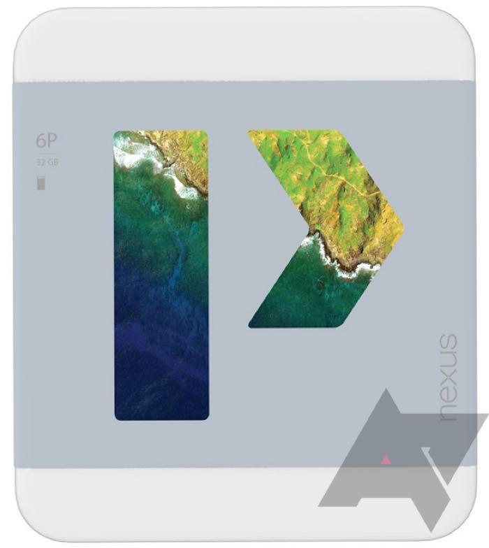 Nexus 6P : photo emballage