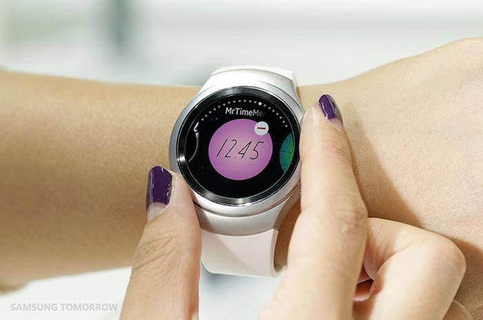 Samsung Gear S2 : interface utilisateur