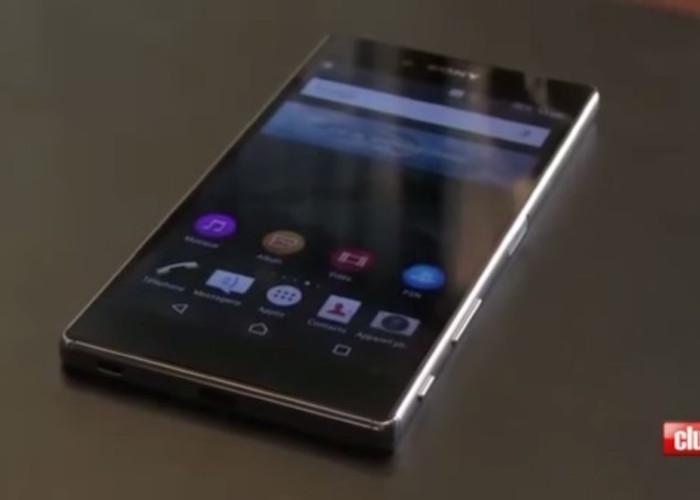Sony Xperia Z5 Premium : vue de face