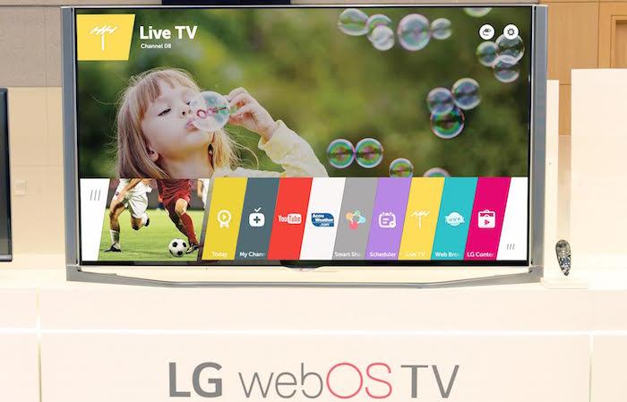 LG annonce une grande mise à jour pour webOS 2.0