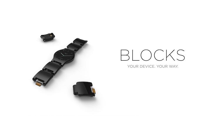 Blocks : la smartwatch modulaire commence sa campagne de crowdfunding