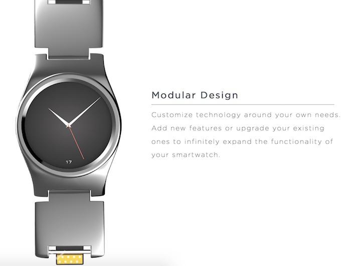 Blocks : les modules seront dans le bracelet