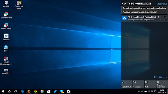 Comment gérer les notifications dans Windows 10