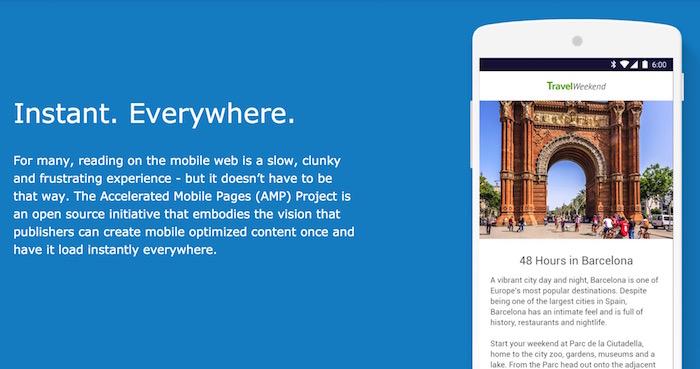 Google a de grandes idées pour accélérer le Web mobile