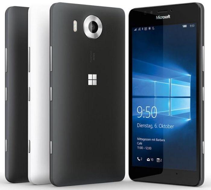 Lumia 950 et 950 XL