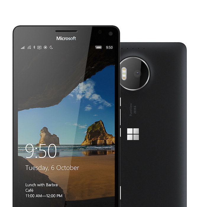 Microsoft Lumia 950 XL :conception