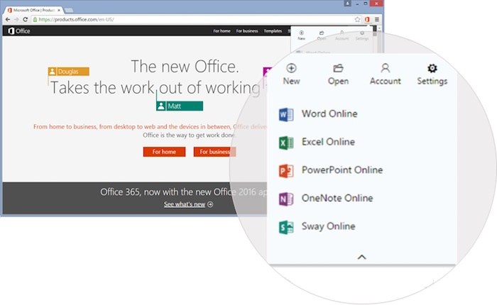 Microsoft déploie une extension Chrome