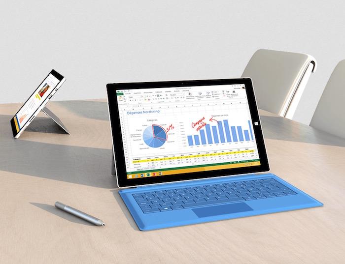 Microsoft fait d'énormes rabais sur la Surface Pro 3 avec d'annoncer la Pro 4