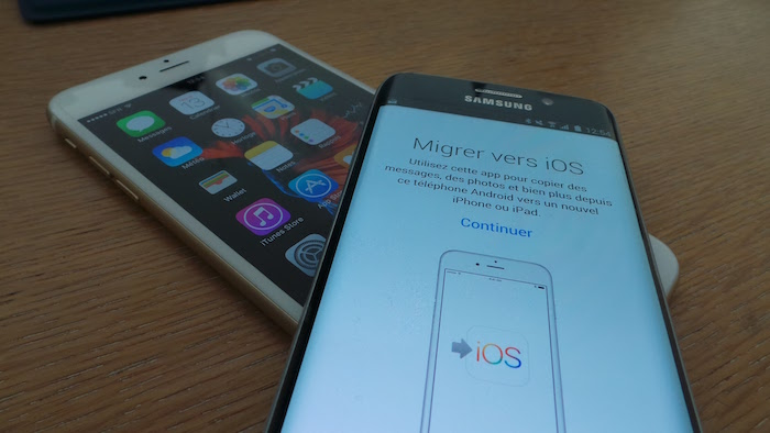 Move to iOS : migration d'Android vers iOS