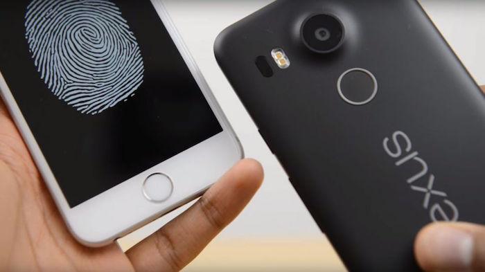 Le Nexus 5X se déverrouille plus rapidement que l'iPhone 6s