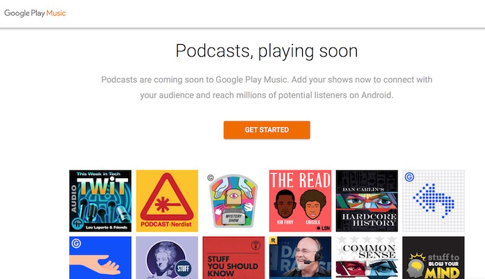 Les podcasts arrivent dans Google Play Musique