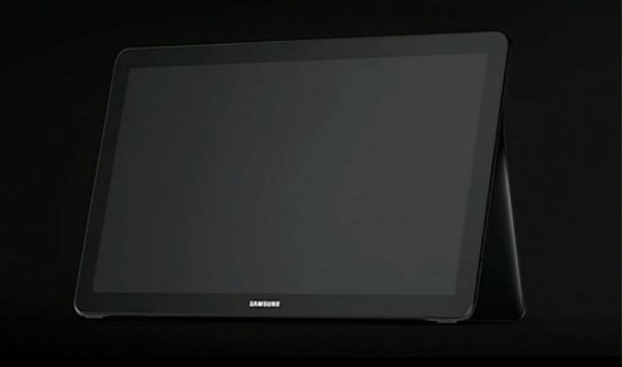 samsung pr voit de lancer sur une tablette de 18 pouces. Black Bedroom Furniture Sets. Home Design Ideas