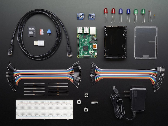 Starter kit Windows 10 Iot Core : composants