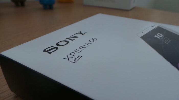 Sony Xperia C5 Ultra Dual : boîtier