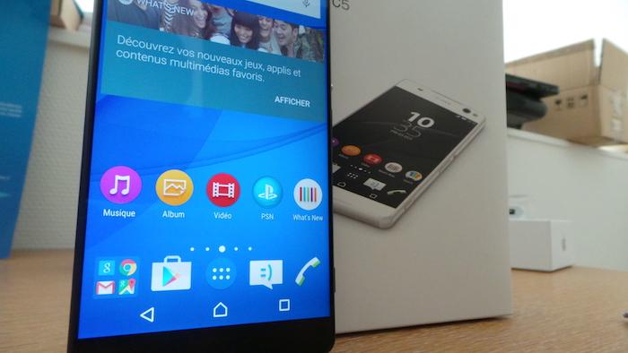 Sony Xperia C5 Ultra Dual : écran